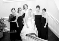 Brides maids in the chappel